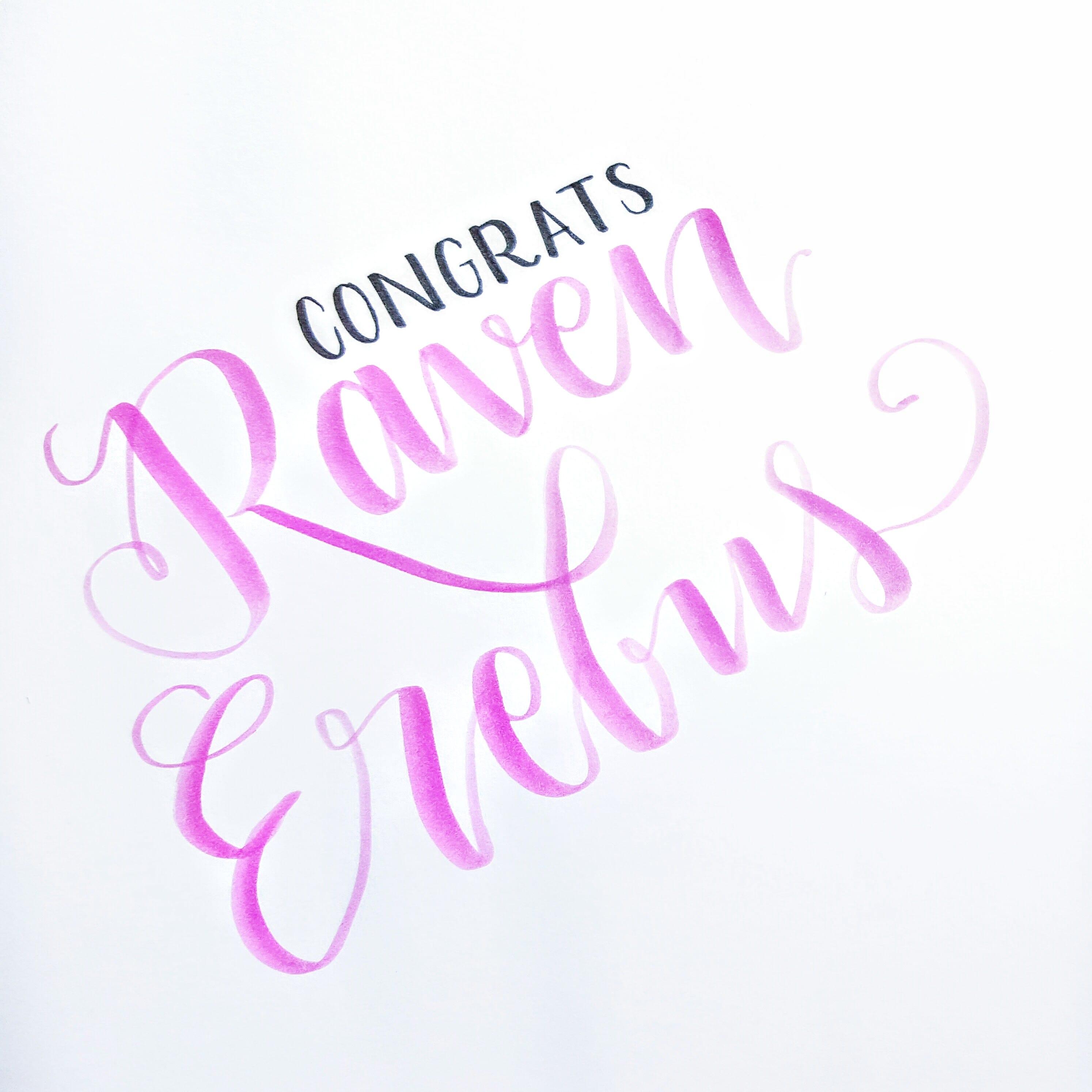 Congratulations, Raven!! You won the #PrettyZigGiveaway!