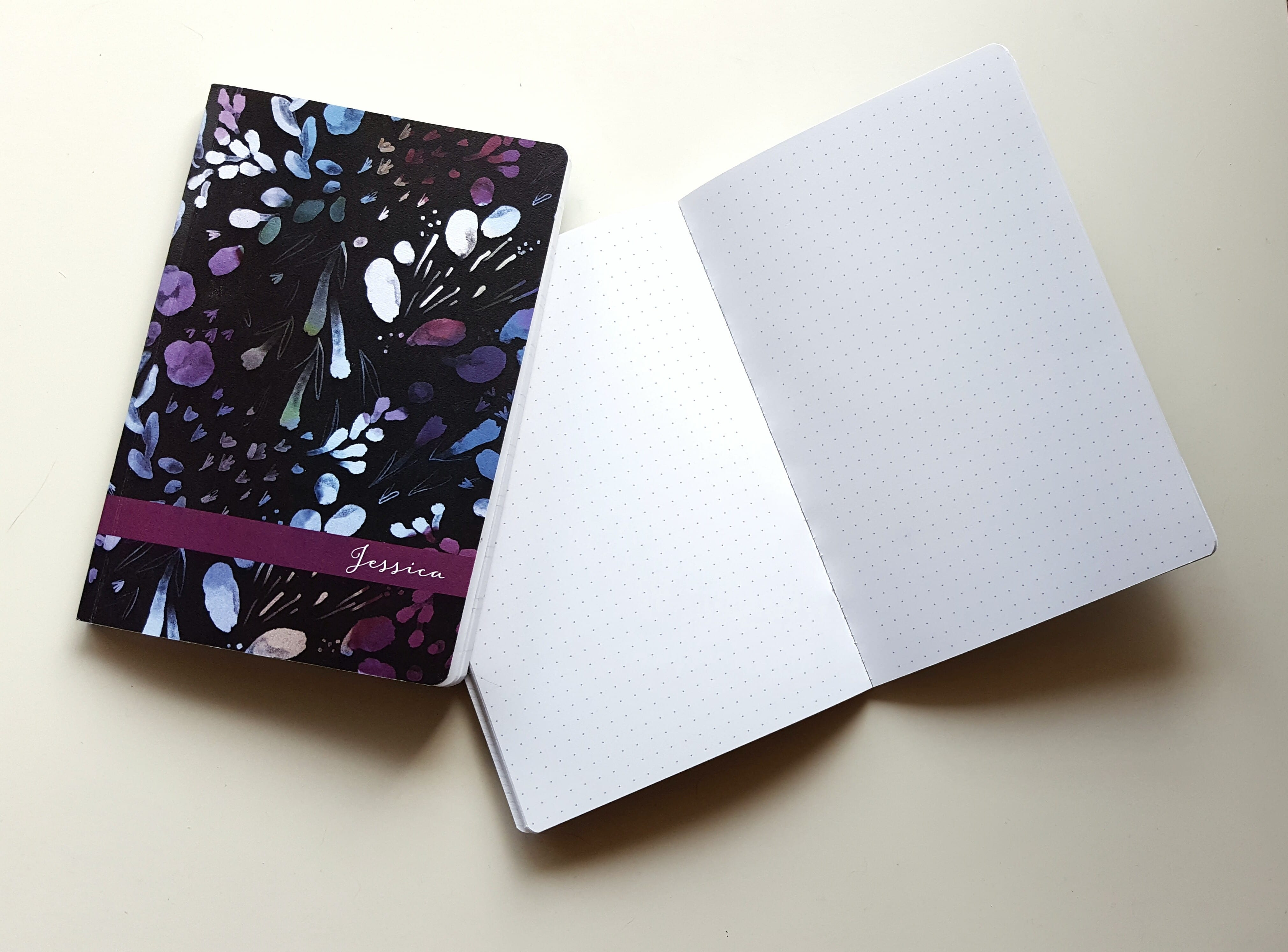 Another great option for your bullet journal- the Plum Paper dot grid Notebook // www.prettyprintsandpaper.com
