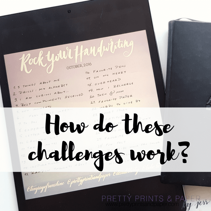 If you're new to the #Planwithmechallenge and #rockyourhandwriting monthly challenges, I walk through how they work and how you participate!