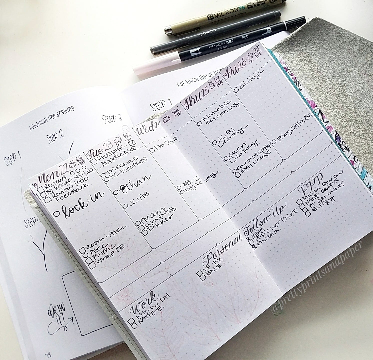Today I talk about how I use my Google Calendar with my Bullet Journal - you can do both digital and analog!